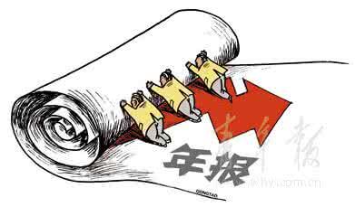 上海注册公司年报